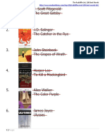 Radcliffe List of 100 Novels, Completed_07Feb21