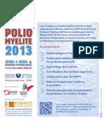 4º Congreso de Poliomielitis se llevará a cabo el Jueves, 04 de abril 2013