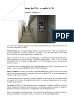 Présentation de CETA, le zombi d'ACTA