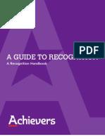 Achievers Whitepaper Recognition Handbook