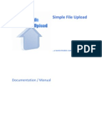 Simple File Upload Users Guide
