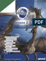 Info BodyPaint 3D 2.5 De