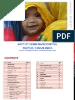 Baptist Christian Hospital, Tezpur, Assam. Annual Report 2011-12