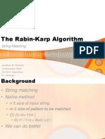 Rabin Karp Matching