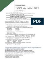 PRONOMS FEBLES - Combinacions