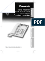 Panasonic KX-T2375 - User Manual