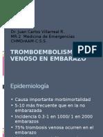 Tromboembolismo Venoso en Embarazo