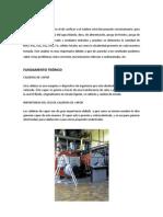 Trabajo Aguas - Caldero