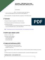 Citroen Xantia modyfikacje AM1996