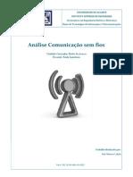Análise Comunicação sem fios
