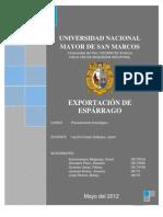 Exportacion de Esparragos_peru