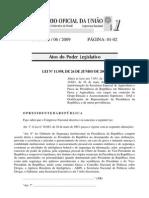 Lei n11.958 Criação do Ministrio da Pesca e Aquicultura-Publicada em 29.06.09