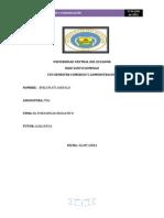 Informe Del Portafolio