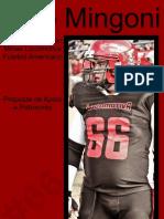 Portfólio - Ítalo Mingoni - Offensive Lineman Minas Locomotiva Futebol Americano