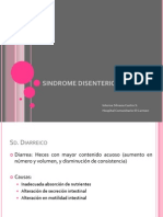 SINDROME DISENTERICO