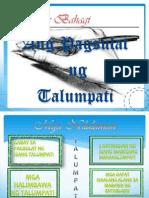 Gabay sa Pagsulat ng Talumpati