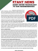 Smart Meter Info Handout
