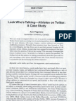 03 Look Who's Talkin Athletes on Twitter a Case Study