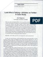 03 Look Who's Talkin Athletes on Twitter a Case Study