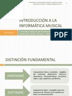 Introducción a la informática musical