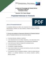 Propiedad Intelectual en Venezuela