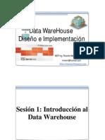 Data Warehouse Introduccion