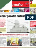 Tapa suplemento quilmeño 16/07/2012