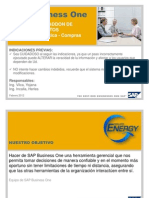 Addon de Requerimientos Sap Business One