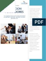 Programa Taller Formacion de Formadores- Leadcon