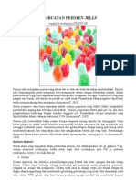 Proses Pembuatan Permen Jelly