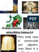 Os Quatro Governos - Hebreus 3:4