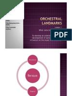 Orchestral Landmarks Baroque