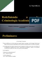Criminología Académica