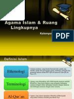 Agama Islam & Ruang Lingkupnya