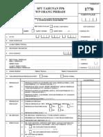 form pajak 1770