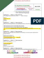 Final Term MCQS CS201 VU by Forum93.Com