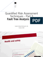 Fault Tree Analysis - FTA