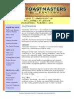 Newsletter of the term Jan-June 2012