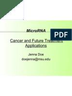 cancer dynamics