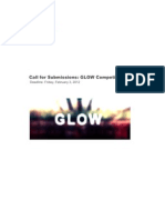 GLOW Competition Call