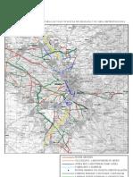 ANEXO III Mapa Infraestructuras (Propuestas ciudadanas para la movilidad sostebible en Granada y su área metropolitana)