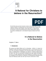 It is Not Rational to Believe in the Resurrection - Contemporary Debates in Philosophy of Religion