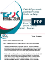Ahmet Ocak EPDK
