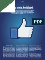 Like mich, Politiker!   (Politik & Kommunikation - August 2012)  Mit freundlicher Genehmigung der Redaktion)