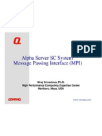 Compaq MPI Workshop Slides