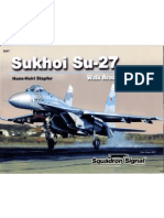 Sukhoi Su 27 Flanker Walk Around 47