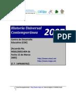 01 D.B. - Historia Universal Contemporanea