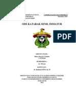 Laporan Kasus OD Katarak Senil Matur+OS Pseudofakia - Copy