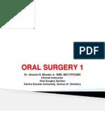 Oral Surgery 1