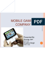 Business Plan Mobile Gaming